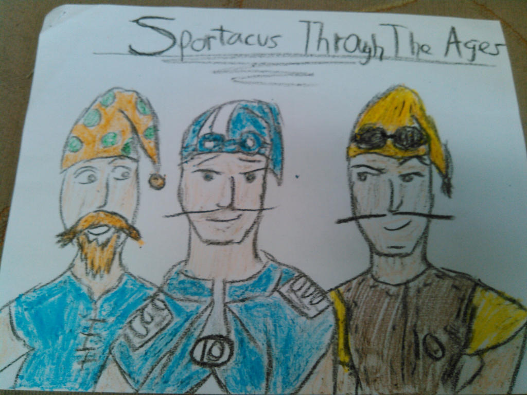 Sportacus Through the Ages by wizard55