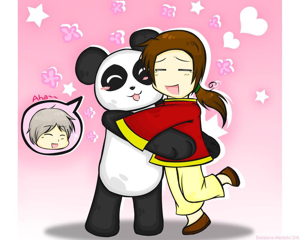 Hug A Panda Aruuu by Deidara-Hedeki on DeviantArt