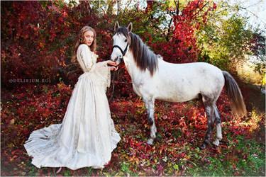 Autumn fairytales III by WildRainOfIceAndFire