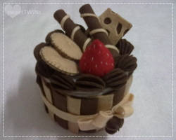 My 1st Trial Cake Box... by SongAhIn