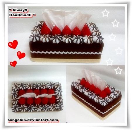 My Tissue Cake Box... by SongAhIn