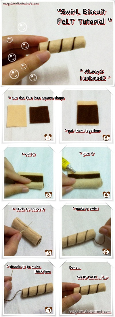 Swirl Biscuit Tutorial.. by SongAhIn