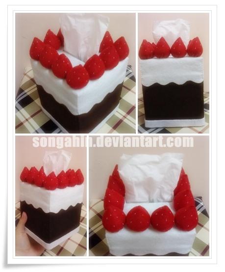 Choco Berry Tissue Box.. by SongAhIn