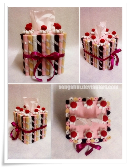 Biscuit Tissue Cake Box... by SongAhIn