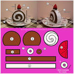 Swiss Roll Cake Pattern...