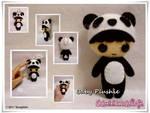 Baby Boy Panda Plushie...