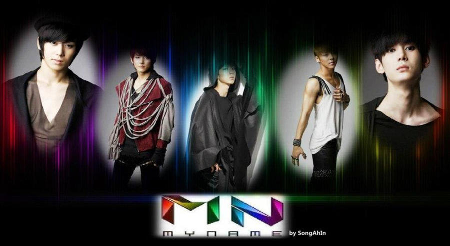 MYNAME by SongAhIn