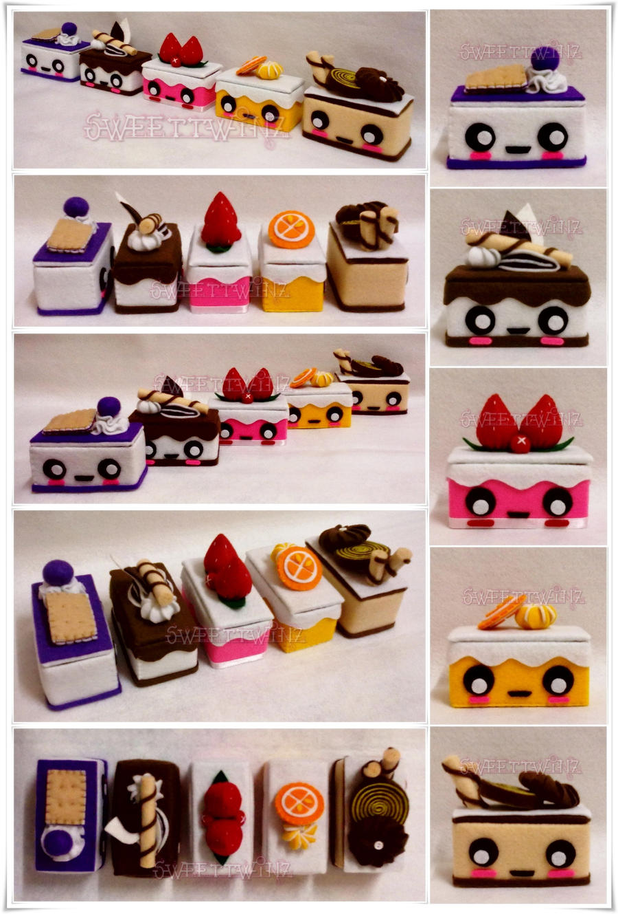 Cute Mini Cake Box Collection by SongAhIn