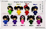 My New Baby Plushies... by SongAhIn