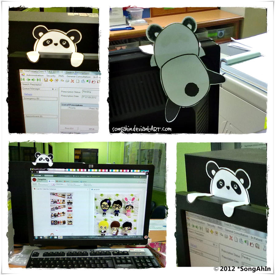 Paper Panda by SongAhIn
