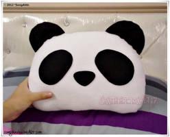 Panda Pillow by SongAhIn
