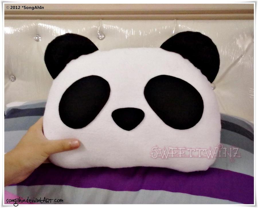 Cute Panda Pillow : Panda Pillow by SongAhIn on DeviantArt