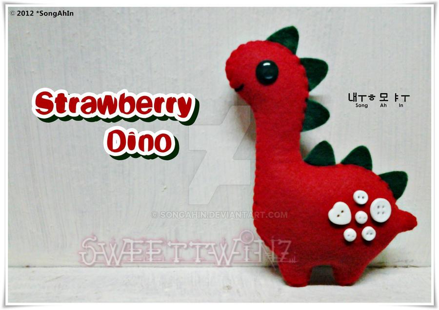 Strawberry Dino by SongAhIn