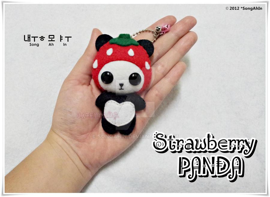 Strawberry PANDA by SongAhIn