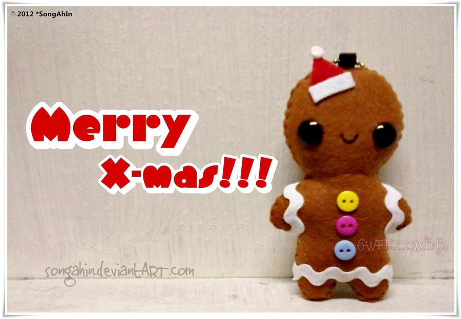 Kawaii Gingerbread by SongAhIn