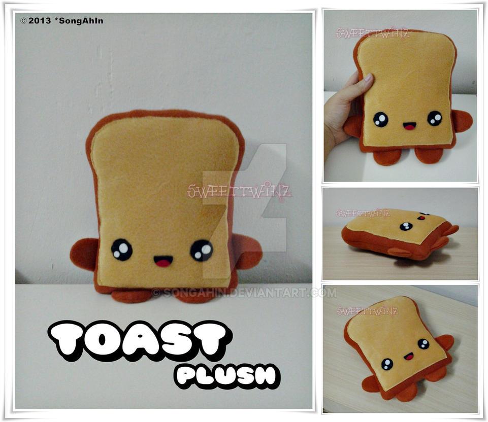Toast Plush by SongAhIn