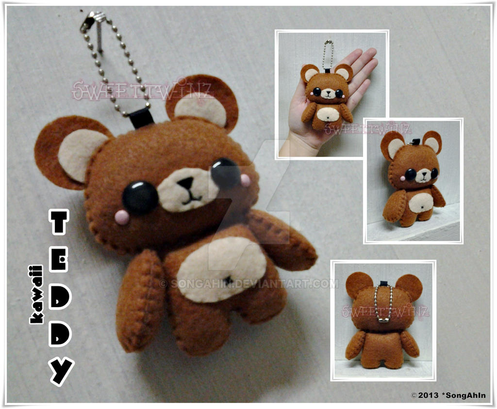 Kawaii Teddy 01 by SongAhIn