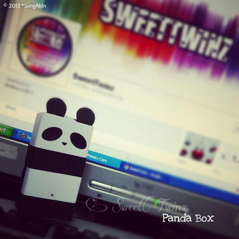 Panda Box by SongAhIn