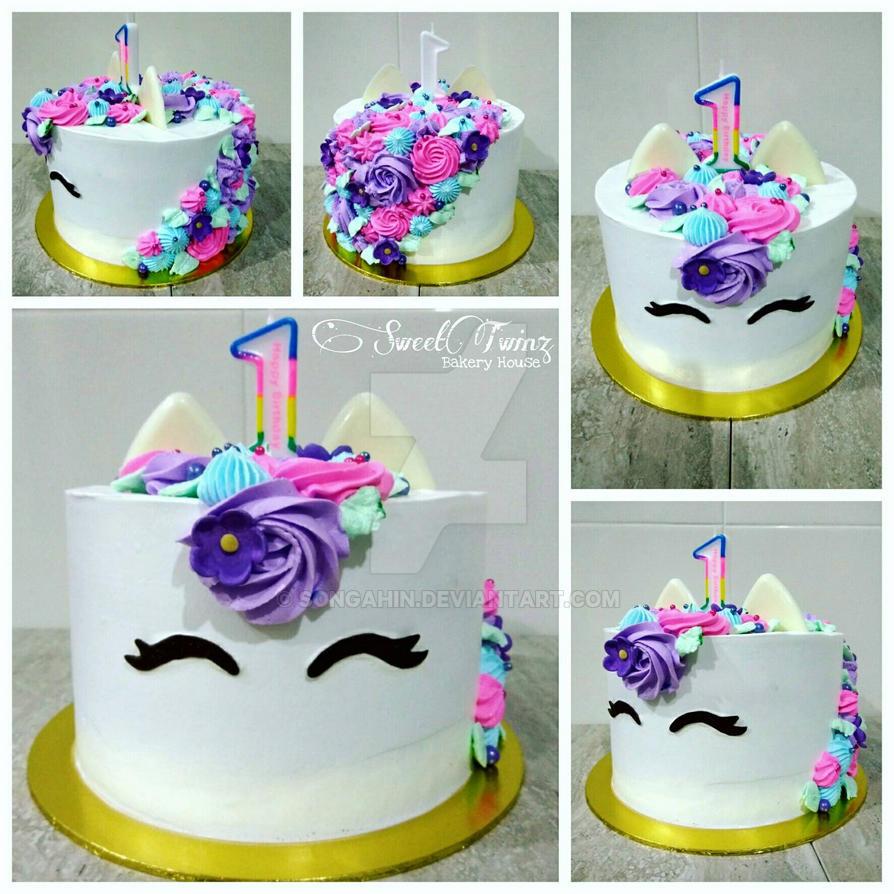 Unicorn Cake by SongAhIn