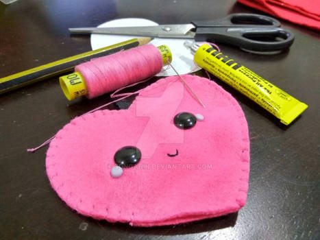 Kawaii Plush Keychain W.I.P