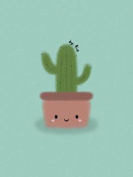 Happy Cactus..\(^~^)/