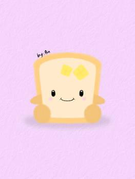 Happy Baby Toast..XD