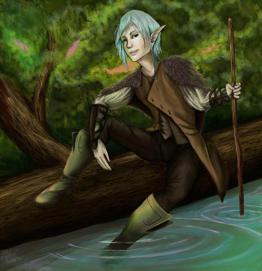 Elven Ranger by Valesse