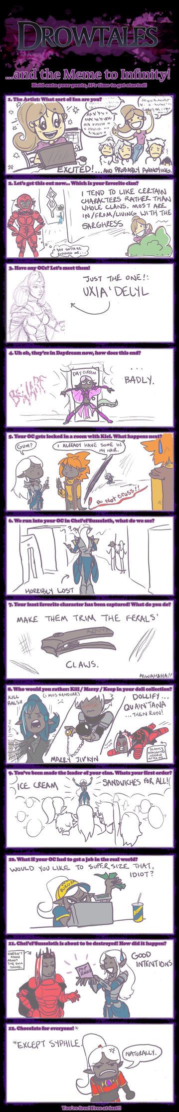 My Drowtales Meme by Valesse