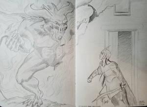 Ecthelion and Gothmog