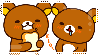 f2u Rilakkuma stamp by Jellybees