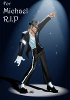 R.I.P King of POP by ASARU-75