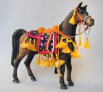 My first Arabian set for Schleich model horses