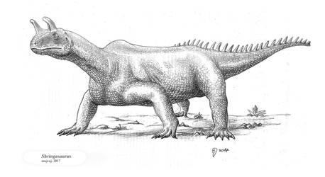 A must Shringasaurus