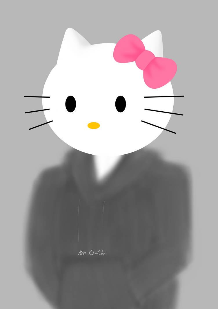 Dark Hello Kitty Wallpaper By Wobushi On Deviantart