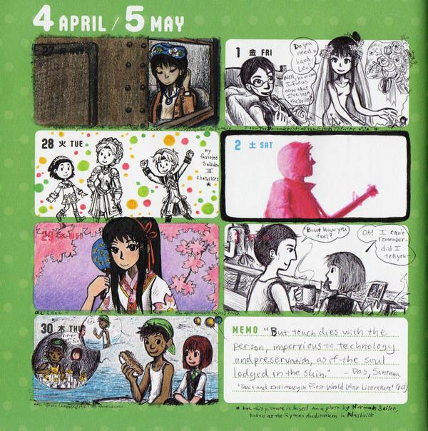 2015 - Kumamon Day Planner - Week 18 by sweet-suzume
