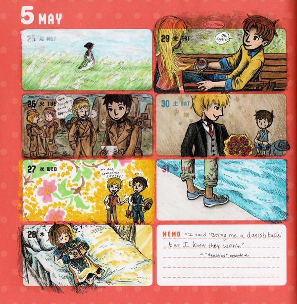 2015 - Kumamon Day Planner - Week 22 by sweet-suzume