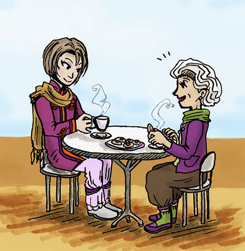 Tea Buddies by sweet-suzume