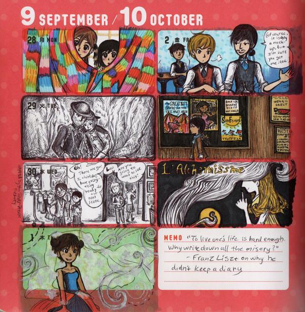 2015 - Kumamon Day Planner - Week 39 by sweet-suzume
