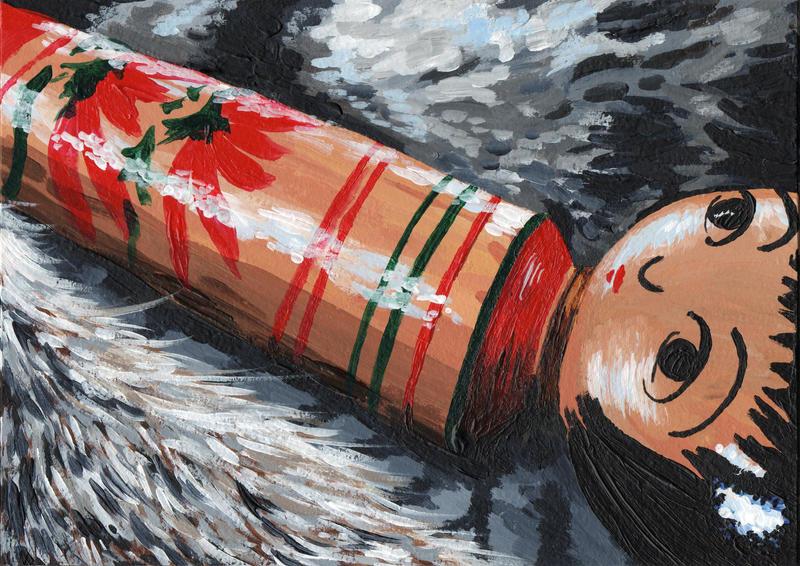 cat fur cloak by sweet-suzume