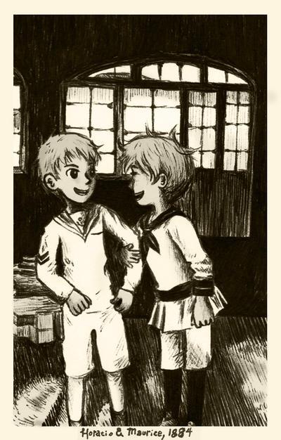 childhood memory (inktober 2015 #9) by sweet-suzume