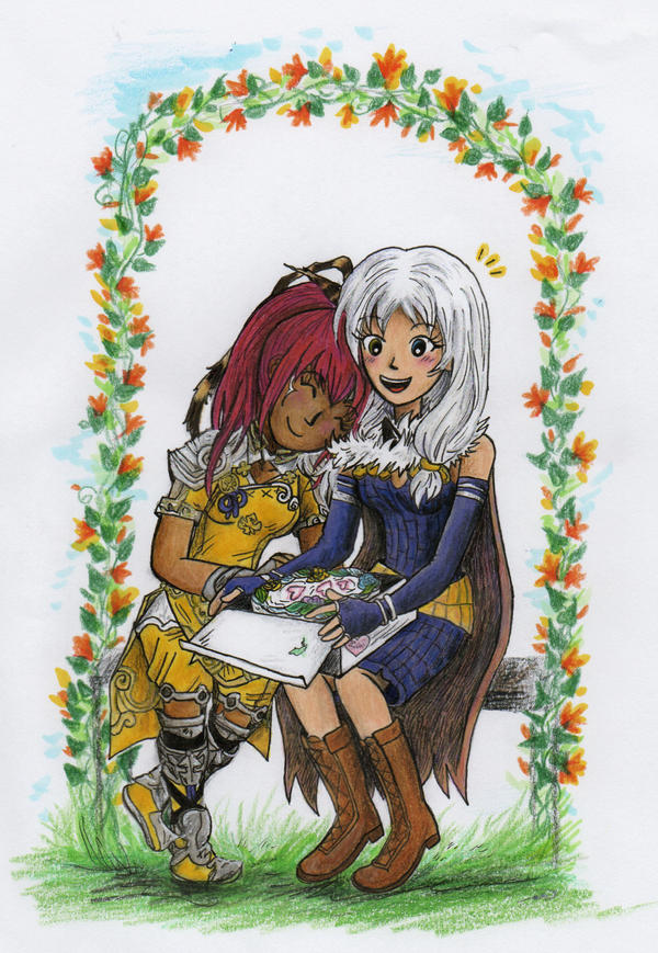 Tengen and Naoki by sweet-suzume