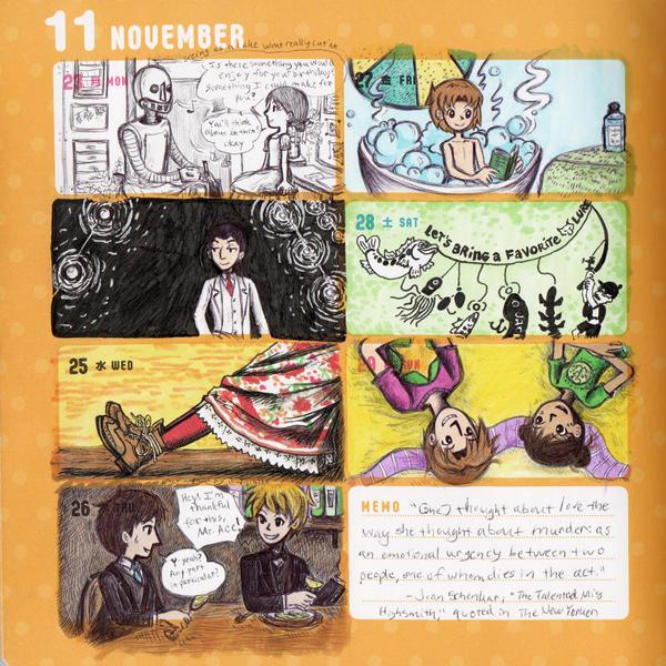 2015 - Kumamon Day Planner - Week 47 by sweet-suzume