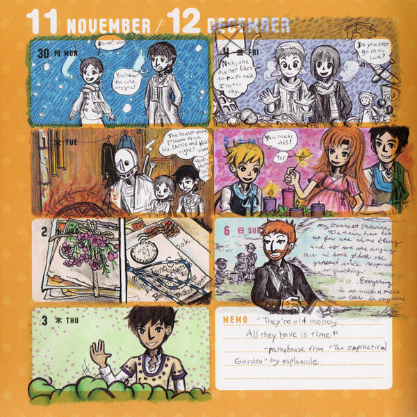 2015 - Kumamon Day Planner - Week 48 by sweet-suzume