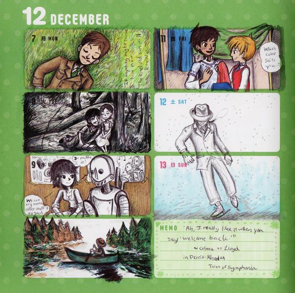 2015 - Kumamon Day Planner - Week 49 by sweet-suzume