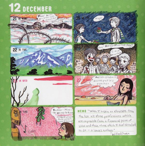 2015 - Kumamon Day Planner - Week 51 by sweet-suzume