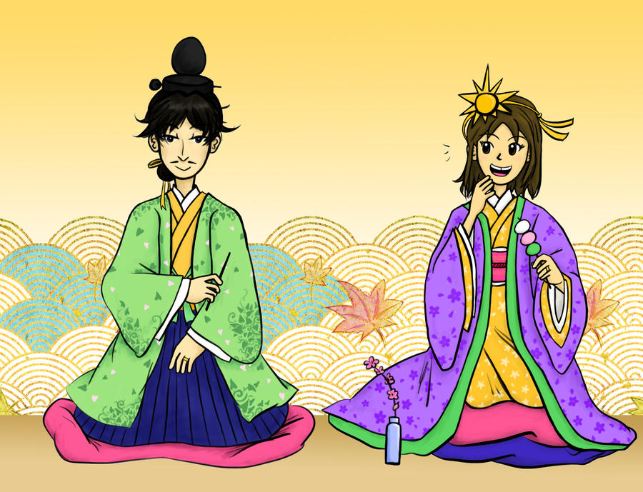 Golden Hina Matsuri by sweet-suzume