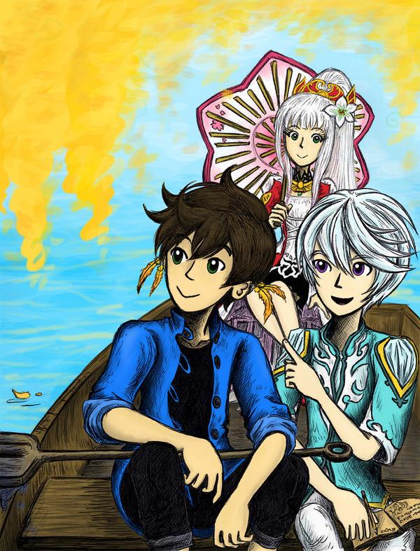 Pleasure Boat by sweet-suzume