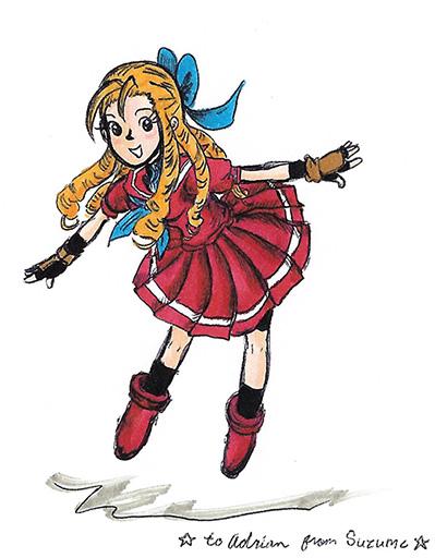 Karin Kanzuki by sweet-suzume