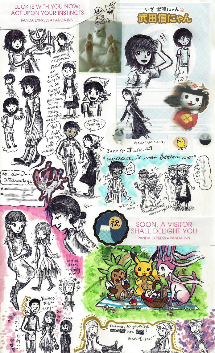 page - girls' escapades, girls's outfits by sweet-suzume