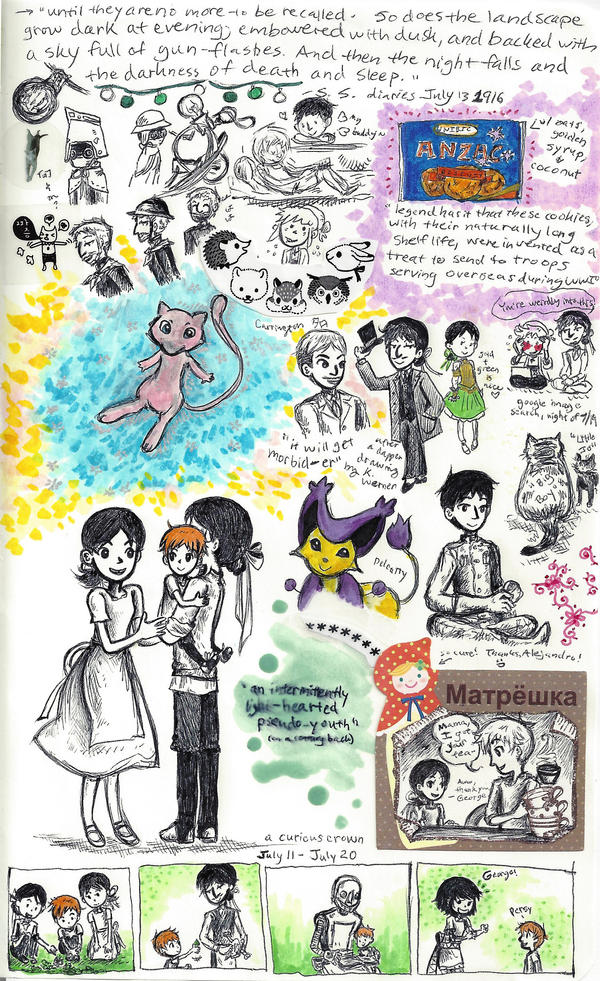 page - George and family, odds and ends by sweet-suzume